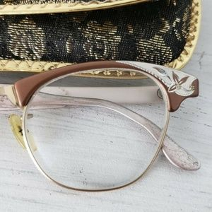 ArtCraft Accessories - Vintage Artcraft Eyeglass Frames Aluminum Cat Eye